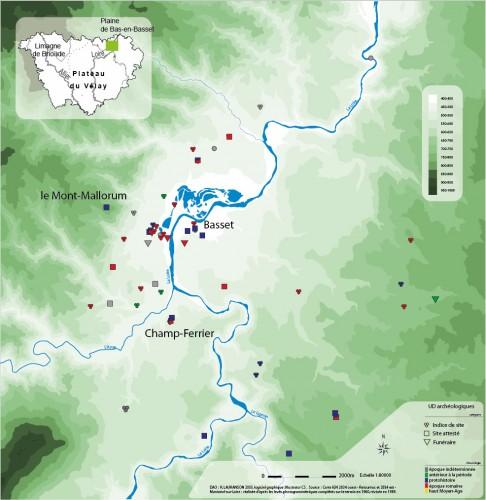 Plaine de bas-en-basset découvertes archeologiques