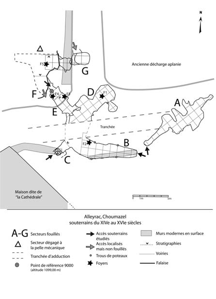 plan sous-terrain Alleyrac