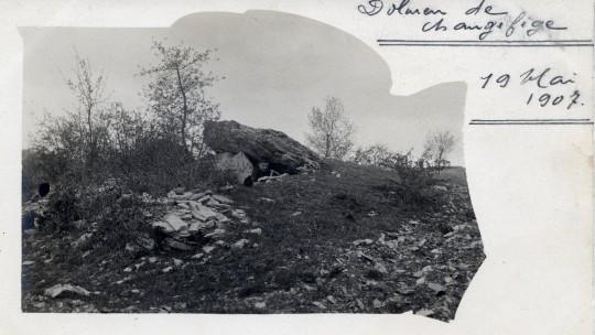 Jules Mazaudier et le dolmen de Changefege - Figure 2