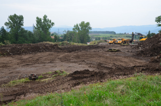 chantier de contournement du Puy - Entre Ours et Mons
