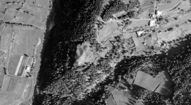 figure 2 - vue aérienne site largier